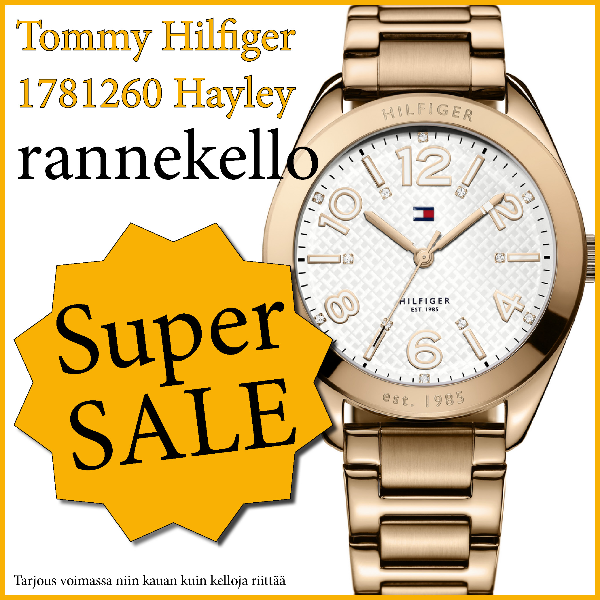 TOMMY HILFIGER 1781260 HAYLEY