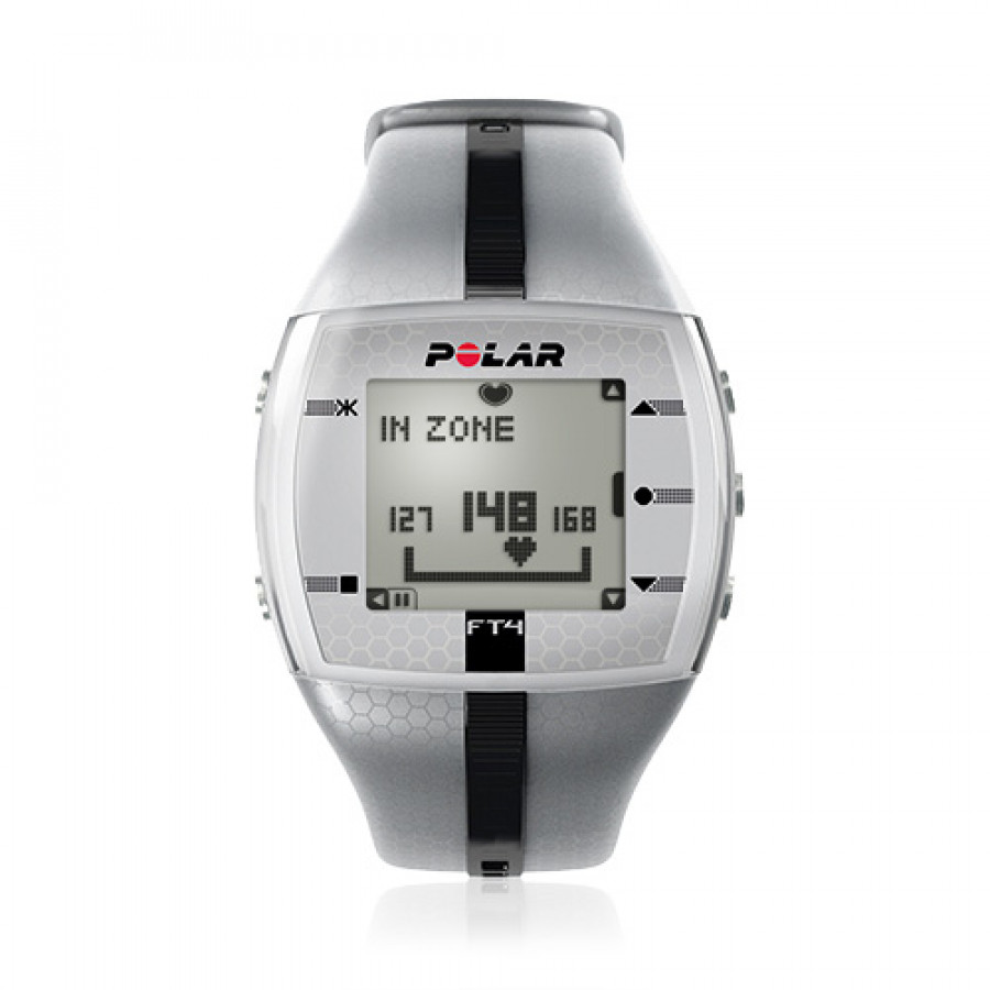 POLAR FT4 SILVER SYKEMITTARI/URHEILUKELLO