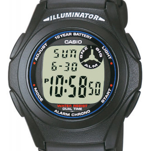 CASIO F-200W-1AEF DIGITAALIRANNEKELLO
