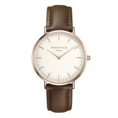 ROSEFIELD BWBRR-B3 BOWERY WHITE BROWN ROSEGOLD RANNEKELLO
