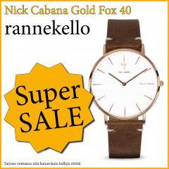 NICK CABANA GOLD FOX 40 RANNEKELLO