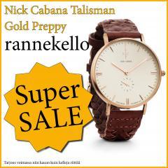 NICK CABANA TALISMAN GOLD PREPPY RANNEKELLO