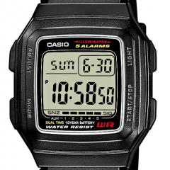 CASIO F-201WA-1AEF DIGITAALIRANNEKELLO