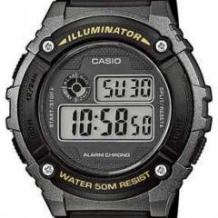 CASIO W-216H-1BVEF DIGITAALIRANNEKELLO
